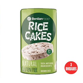 Galleta de Arroz Rice Cake Natural 100gr
