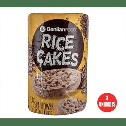 Galleta de Arroz Rice Cake Sunflower 100gr