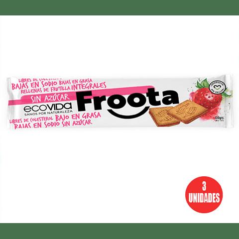 Galleta FROOTA Frutilla 150 grs. (3 Unidades)