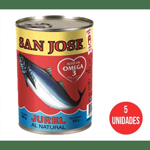 Jurel San José 425 g (5 Unidades)
