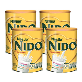 Leche Nido Entera Tarro 1500g (4 Unidades)