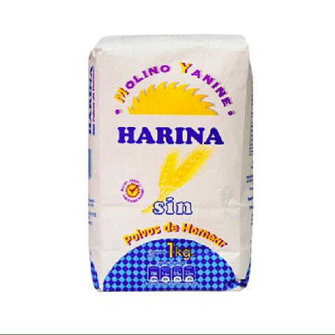 Harina Yanine sin Polvo (3 Unidades)