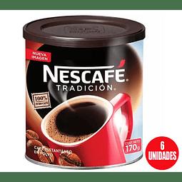 Nescafé Tradición 170grs (6 Unidades)