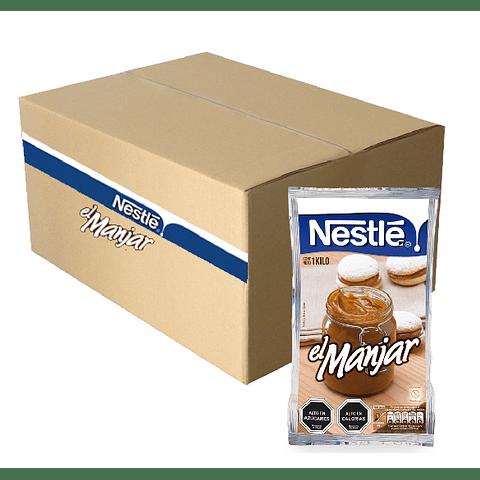 Manjar Nestle Caja 12 Kilos (12 Unidades)( precio oferta)
