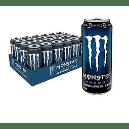 Energética Monster Energy Absolutely Zero 473cc (24 Unidades) ( Remate de stock, Ultimas Unidades)