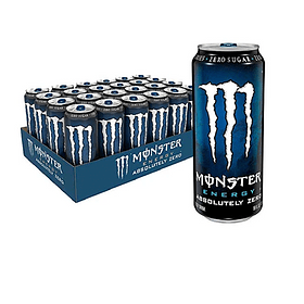 Energética Monster Energy Absolutely Zero 473cc (24 Unidades) ( Remate de stock, Ultimas Unidades)