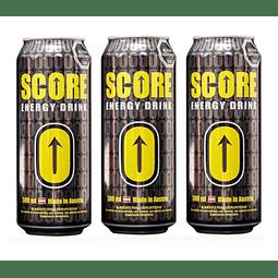 Bebida Energética Score 500cc (3 UNIDADES) ( Remate de stock, Ultimas Unidades)
