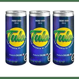 Bebida Energética Tula 250cc (3 Unidades)