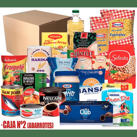 Caja de Mercadería Nº2 E-Castro ( Producto destacado)