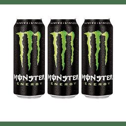 Monster Energy 473 ml (3 Unidades)