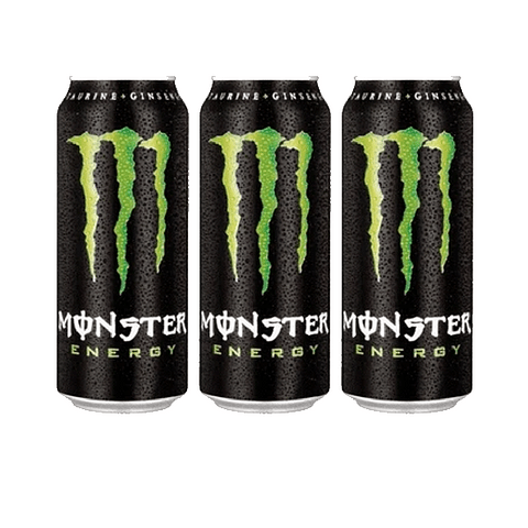 Monster Energy 473 ml (3 Unidades)( Remate de stock, Ultimas Unidades)