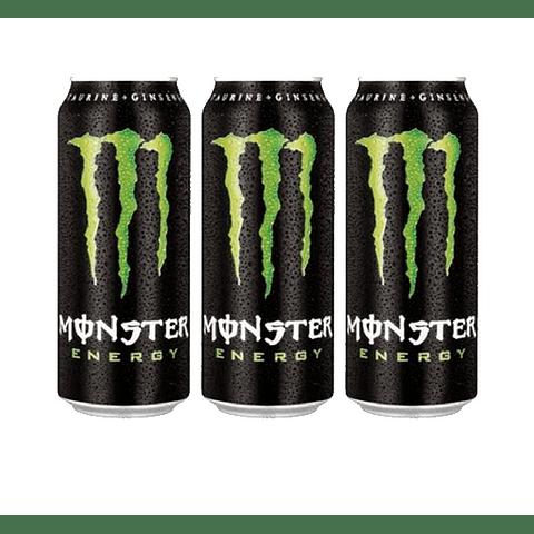 Monster Energy 473 ml (3 Unidades)( Remate de stock, Ultimas Unidades)