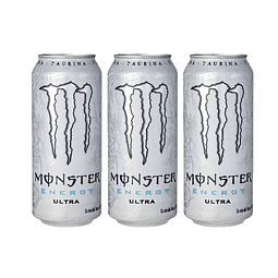 Energética Monster Energy Ultra (3 Unidades) ( Remate de stock, Ultimas Unidades)
