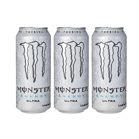 Energética Monster Energy Ultra (3 Unidades) ( Remate de stock, Ultimas Unidades)