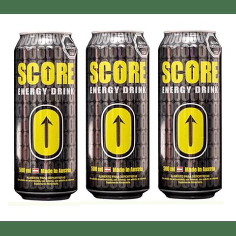 Energética Score 500cc (3 Unidades)