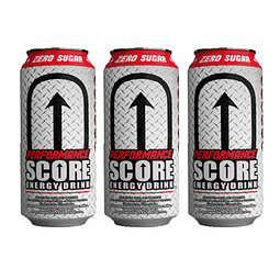 Energética Score Performance Zero Azucar (3 Unidades) ( Remate de stock, Ultimas Unidades)