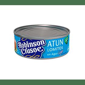 Atún Robinson Crusoe lomitos en agua light 160 g ( 3 unidades)