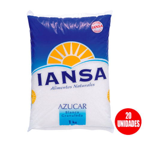 Azúcar Iansa Kg (20 Unidades)