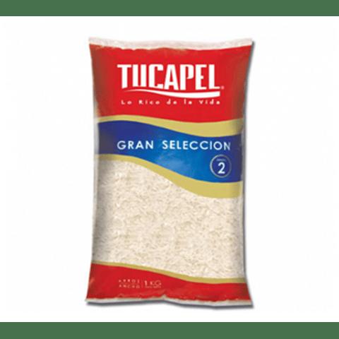Arroz Tucapel  1 Kg Grado 2 (3 Unidades)
