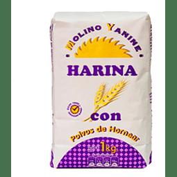 Harina Yanine Con Polvos Kg (12 Unidades)
