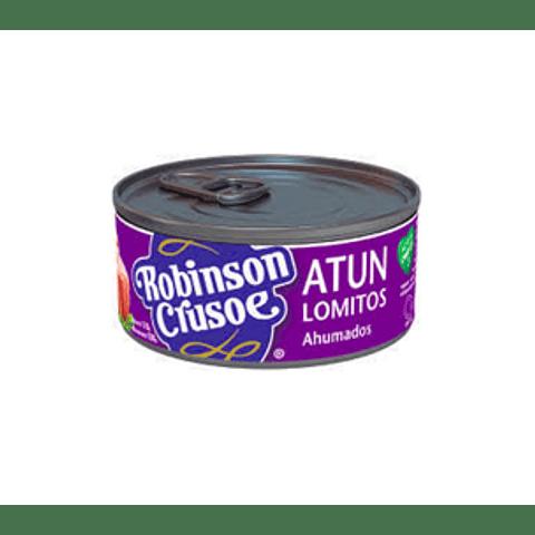 Atún Robinson Crusoe Lomitos ahumados 160 g (10 Unidades)