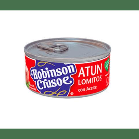 Atún Robinson Crusoe Lomitos en aceite 160 g (10 unidades)