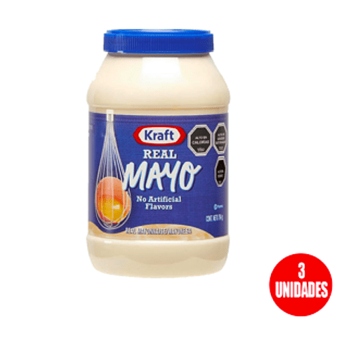 Mayonesa Kraft 794 Gr (3 Unidades) ( oferta)
