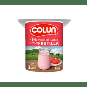 Yoghurt Colún 125gr Frutilla (10 Unidades)