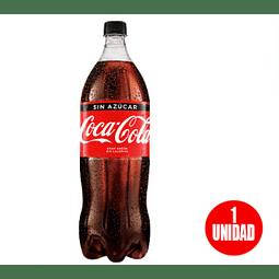Coca Cola Zero 1,5 lt Desechable (3 Unidades)