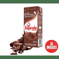 Leche Con Chocolate Soprole 200cc (48 Unidades)