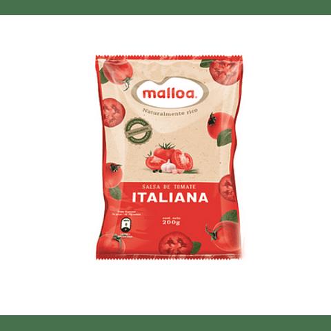 Salsa de Tomate Malloa 200grs ( 6 unidades )