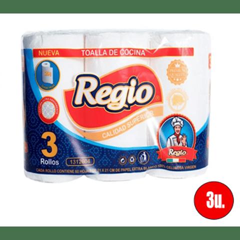 Toalla de cocina Regio (3 unidades)