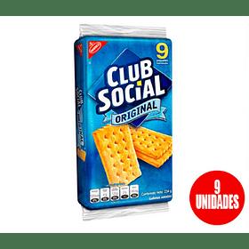Galleta Cub Social 26gr (3 Unidades)