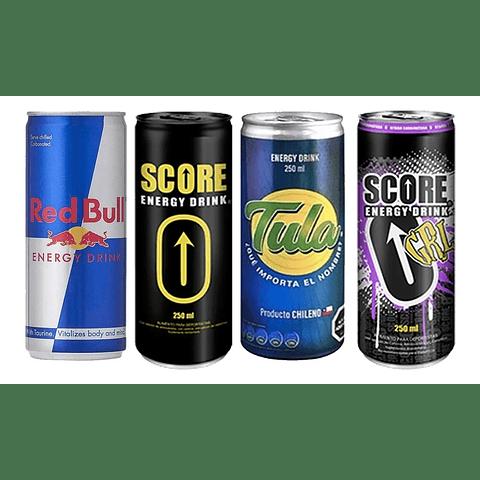 Mix Energética Score Energy Drink  250 cc 24 unidades ( edición limitada) ( Remate de stock, Ultimas Unidades)