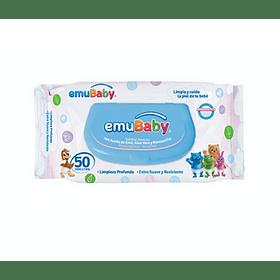Toallita de limpieza con jabón EmuWipes (50 toallitas)