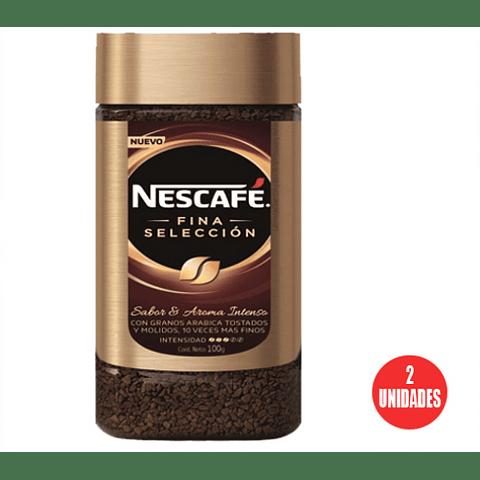 Nescafé fina selección, frasco 100 g (2 Unidades)