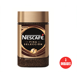 Nescafé fina selección, frasco 50 g (3 Unidades)