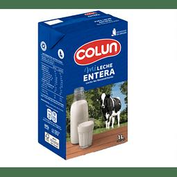Leche Colun Natural Litro (3 Unidades)
