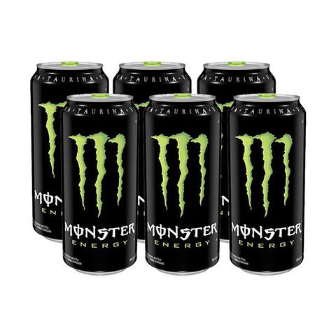 Energética Monster Energy 473cc (6 Unidades)
