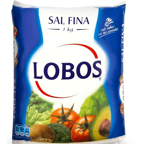 Sal Lobos Kg
