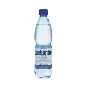 Agua Mineral Cachantun Con Gas 500cc (12 Unidades)