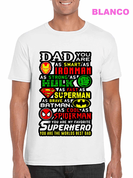 Dad Favorite Superhero