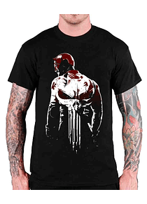 Daredevil vs Punisher Art