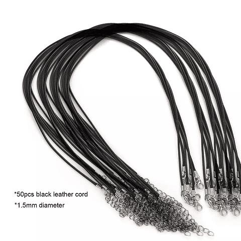 Cordones negros