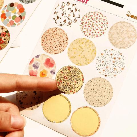 Sticker colores