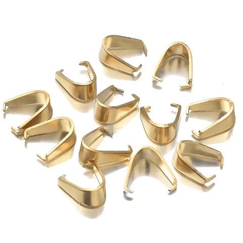 Valier acero dorado