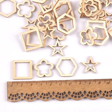 Set 4 diseños marco madera 20mm
