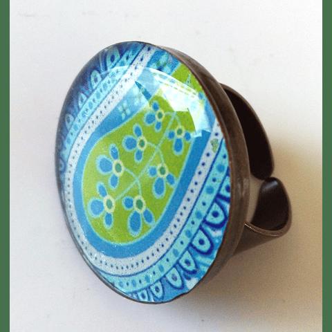 anillo resina