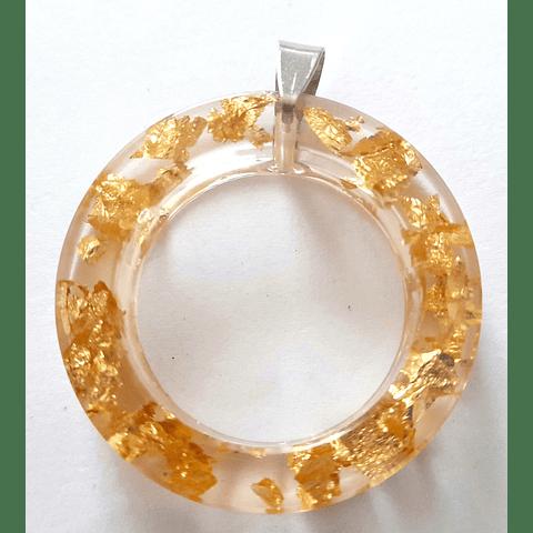 Colgante dorado