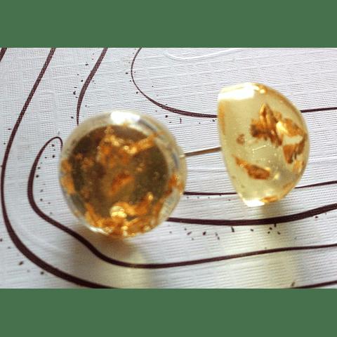Aros dorados tope
